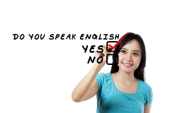 Student Learning English